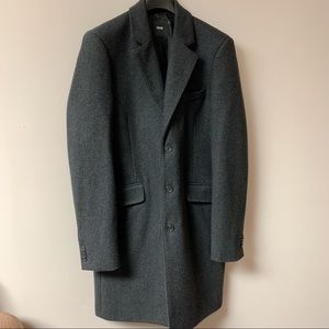 (NWOT) Men's ASOS Wool Coat